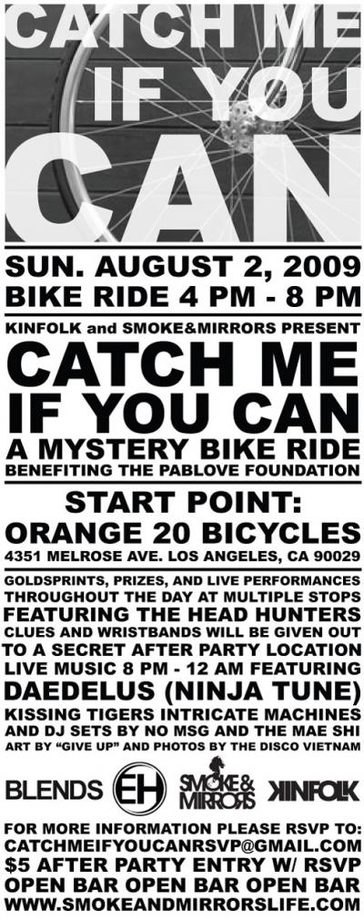 mystery bike ride!