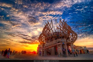 Burning Man Temple 2009, Reprocessed 2012 by Michael Holden on 500px